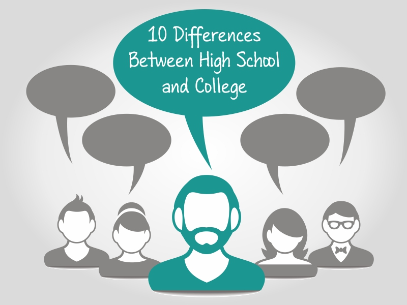 College vs. High School