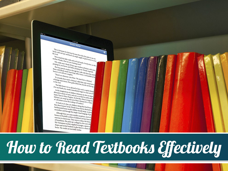 How to Read Textbooks Effectively