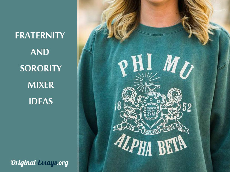 Fraternity and Sorority Mixer Ideas