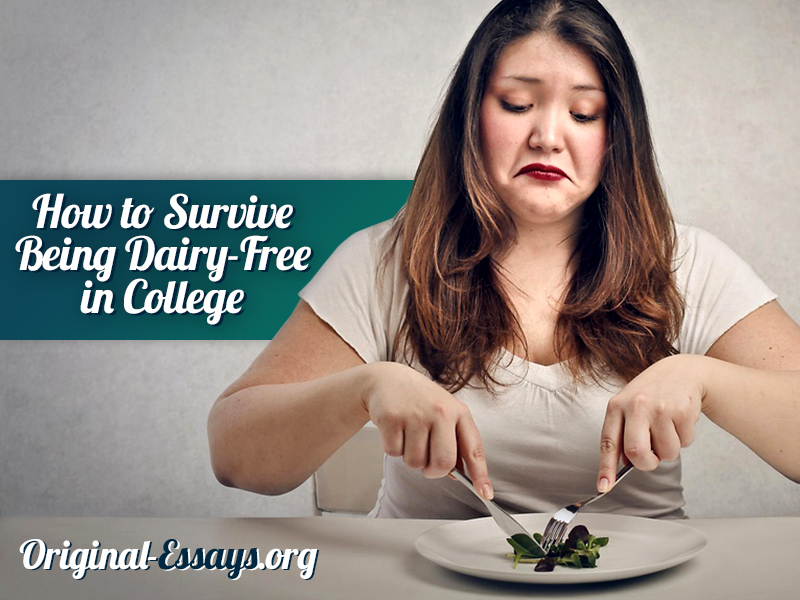 How to Survive Being Dairy-Free in College