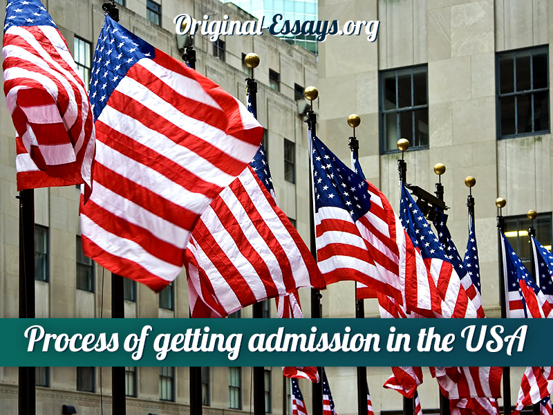 Admission in the USA